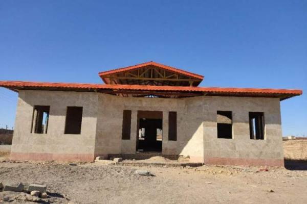 خیّر گنابادی برای تکمیل ساخت یک کتابخانه روستایی اعلام آمادگی کرد