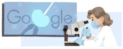 تغییر لوگوی گوگل به افتخار دانشمند پیشگام روش باروری IVF