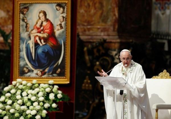 پاپ خطاب به مردم میانمار: در برابر شرارت ناامید نشوید