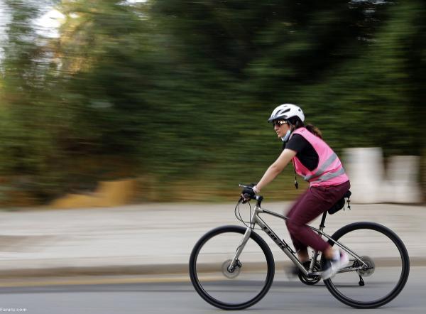 جنجال زنان دوچرخه سوار در عربستان