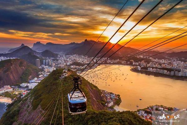 کوه شوگرلوف؛ چشم انداز شگفت انگیز ریو