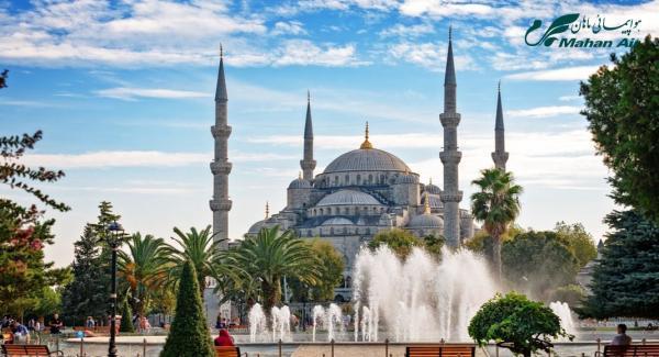 تور استانبول: برنامه پروازهای هواپیمایی ماهان به استانبول