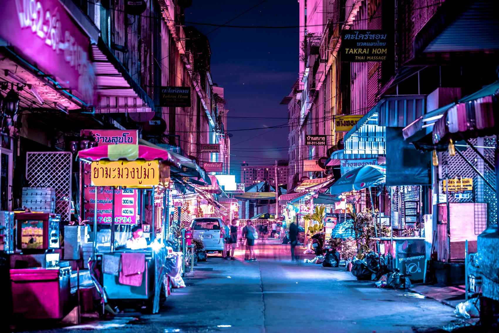همه چیز درباره بازار شبانه پات پونگ